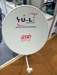 Bande Ku 75cm plat de télévision par satellite