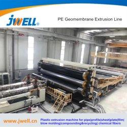 PVC HDPE LDPE EPDM EVA 防水シート押出ライン