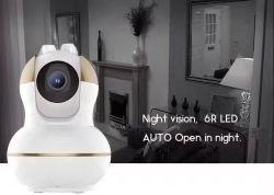 WiFi video Kamera Sicherheits-Warnung IP-WiFi mit Fühler-Tür-Fühler des Rauchmelder-PIR
