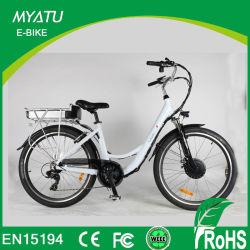 Vélo neuf de la ville E de mode de Myatu avec demi de commande de puissance de torsion