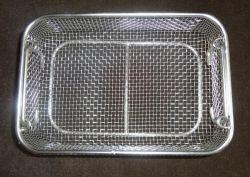 Металлическая корзина для стерилизации травления