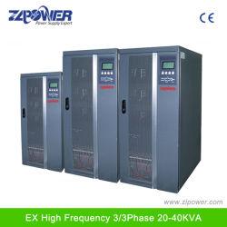 De Output van de Levering van de macht 20kVA-80kVA 0.8 en N+X Parallelle 3phase Hoge Frequentie Online UPS
