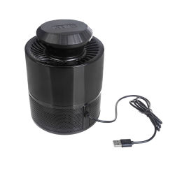 함정 램프를 가진 모기 곤충 Zapper 살인자는, 화학제품 자유로운 USB 지능적인 등화관제 UV LED Photocatalyst 비행거리 Zapper를 강화했다