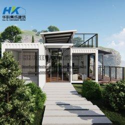 2X40FT modulair Geprefabriceerd huis/het Prefabriceren van het Huis van de Verschepende Container