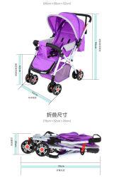 De lichtgewicht Vouwbare Kinderwagen van de Baby/de Regelbare Wandelwagen van Jogger van de Baby