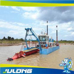 Navio Draga de Mineração de areia com Cabeça de Corte