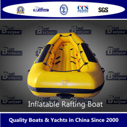 Bestyear 3.5m 3.8m 4.3m aufblasbares flößendes Boot für zwei bis drei Leute mit Cer