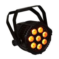 屋外の防水LEDの同価ライト5in1 RGBWA 10wx8 IP65 DMX