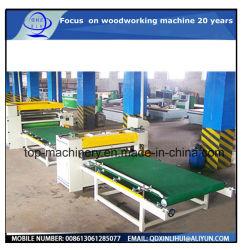목공 자동 용지 고착 라인/반자동 PVC 또는 용지 라미네이팅 기계/PVC 목재 플레이트 표면 라미네이팅 기계