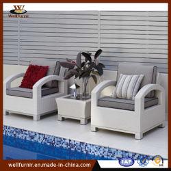 屋外の家具の藤の家具の庭の余暇のChaiseのソファーはセットした(WF-138)