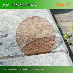عدسات بصرية ذات ألوان غير ملونة من الزجاج الضوئي HMC 1.56 (KOC)