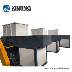 단 하나 두 배 샤프트 Wood/PP/PE/PVC/Teflon/Pet/HDPE/LDPE 관 병 드럼 덩어리 낭비 플라스틱 분쇄기 쇄석기 기계 /Container /Film 슈레더