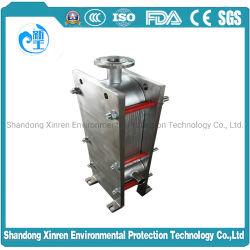 Ts6/titane TS20PT Échangeur de chaleur de l'Indonésie pour la solution d'hydroxyde de sodium aqueux de refroidissement
