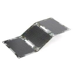 18W solaire Téléphone mobile portable USB pliable de la Banque d'alimentation batterie Chargeur la lumière du soleil d'alimentation du panneau