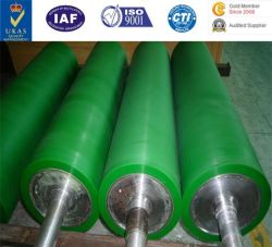 Rolete de poliuretano, cilindro de borracha, PE, Rolo espaçador de poliuretano