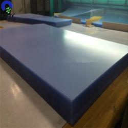 0,21mm 6mm de plástico para imprimir la hoja de PVC transparente Hoja de PVC rígido