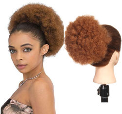 Afro Puff Drowstring Ponytail per le donne nere capelli ricci Ponytail Estensione