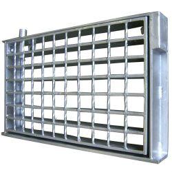 Stahlvergitterung Q235 für Abfluss-Deckel-und Garage-Fußboden-Gitter