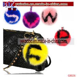 Les articles promotionnels fourrure de lapin fourrure Trousseau Garment Corporate Gift (G8026)