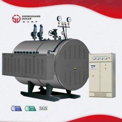 La presión atmosférica vertical comerciales industriales agua caliente eléctrica de la caldera de té