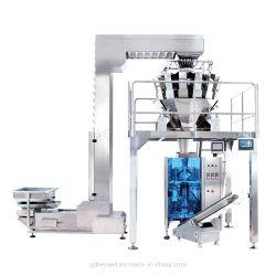 Volledig Automatische Verticale het Vullen van de Verpakking van het Voedsel Machine met Weger Multihead