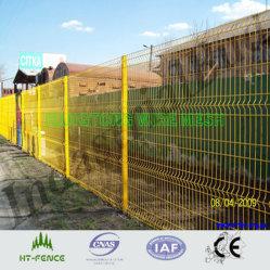 Painel de solda com revestimento de PVC / cerca o zoneamento de malha de arame revestido de PVC
