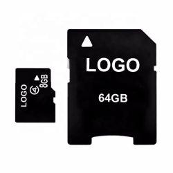 메모리 카드 홀더 32GB SD 카드 접합기 마이크로 SD에 있는 주문 로고