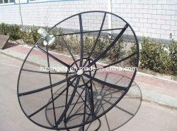 Satellitenschüssel Antenna des Ineinander greifen-C Band 210cm