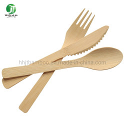 Usine de gros de la vaisselle compostable bambou écologique défini la vaisselle jetable