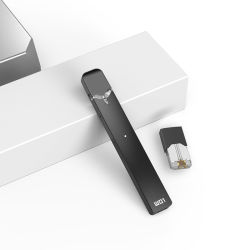 La Vaina vacía de cerámica de dispositivo/algodón Vape plana Pod Vape Pluma con carga micro USB