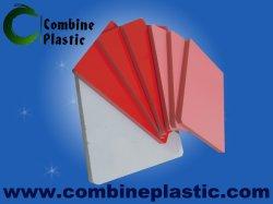 Los colores de baja densidad de la junta de espuma de PVC con una gran superficie brillante para publicidad