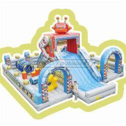 Cheer robot d'attractions à thème de l'équipement de terrain de jeux intérieur gonflable amusement