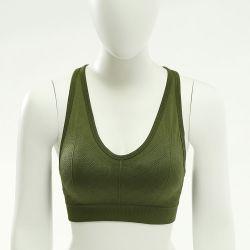 La nuova maglia di sport delle belle donne posteriori senza giunte 2020 della biancheria intima senza stile sottile della maglia d'acciaio dell'anello raccoglie il reggiseno sexy