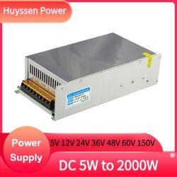 Voeding CE RoHS 1200 W 12 V 100 A hoog vermogen AC/DC-VOEDING 24 V 36 V 48 V 60 V 90 V 1200 W S-1200-12