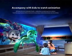ألعاب للأطفال في الملاهي الداخلية يمكن لمس جدار تفاعلي لعرض الأرضية ألعاب غامرة لرمي الكرة