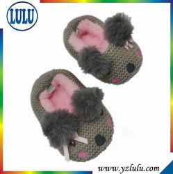 Hilo de tejer a mano perro adorable Bebé niño bebé zapatos para interiores y exteriores