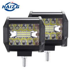 Haizg autres Accessoires pour voiture 60 W conduite brouillard Offroad LED Phare de travail voiture de travail LED 12V-24V voiture universelle 4RM LED travail Projecteur de barre lumineuse