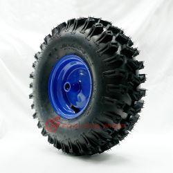 Gummireifen-und Rad-Felgen-4.00X6 zusammengebautes Rad des Forlong Rasen-15X5.00-6 für Schnee-Spritzringe, Pflüger, Reitmäher, Garten-Traktoren, Atvs und Gebrauchsfahrzeuge