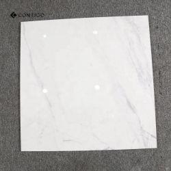 ドバイの陶磁器の光沢のある明白で白い磁器の床タイル