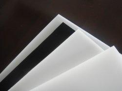 PEシート、白く、黒い、緑色のHDPEシート