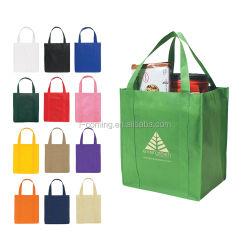 Spot Non-Woven bolsos, prendas de vestir de publicidad de regalo bolsas ecológicas de compras, exposición de bolsos promocionales