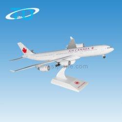 A340-500 aria Cananda come modello di plastica dei velivoli del regalo di affari