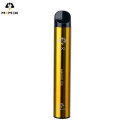 Peu de personnalisation de la nicotine Vape stylo jetable électronique 1200 bouffées Cigaretee 650mAh 10 saveurs avec la CE la certification FCC