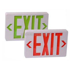 Salida de emergencia LED de luz, la placa de señal de salida de emergencia