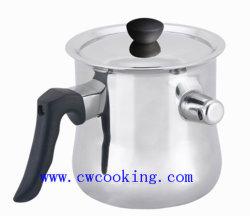 ステンレス鋼の笛を吹くミルクの鍋Hervidor Leche Silbado Acero Inoxidable