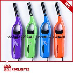 Multi-Color plástico longa Acendedor churrascos Acendedor de cozinha