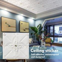 Comercio al por mayor de la pared de ladrillo de 3D de espuma 3D Fondos de Escritorio de pared adhesivo para la decoración del hogar