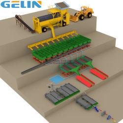 Mine de diamants en or de lavage mobile plante Rock alluviaux à petite échelle de placer le traitement de minerai d'étain de sable se laver les processus d'argile minérale d'exploitation minière de zircon séparant le prix en spirale
