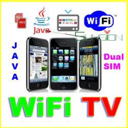 WIFI TV Movil Celulares Dual SIM, JAVA F003