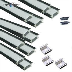 Pxg-205 LED 라인 램프 부속품 캐비닛 램프 셸 키트 U자형 알루미늄 슬롯 천장 램프 LED 하드 램프 스트립 소프트 램프 스트립